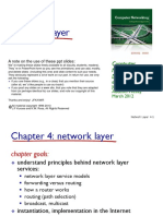 Computer Networks A Top Down Approach - Chapter 4