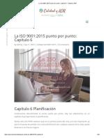 La ISO 9001_2015 Punto Por Punto_ Capítulo 6 - Calidad y ADR