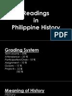 intro PH history