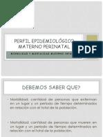 Perfil Epidemiológico Materno Perinatal