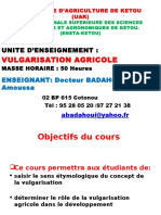 325131605 Cours de Vulgarisation Agricole