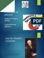 Problemario Ley de Coulomb