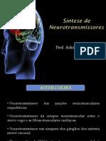 Síntese de neurotransmissores