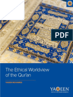 FINAL the Ethical Worldview of the Qur'An