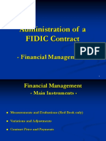 Contract Administration FinancialManagement