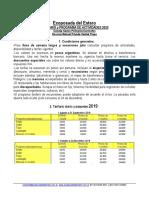 ECOPOSADA DEL ESTERO EN IBERÁ 2019-2020