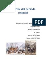 Informe Del Periodo Colonial