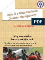 veterinarian role in disaster management .pptx