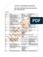 29 DAYS STUDY PLAN AND IMPORTANT STUFF BY HAFIZ BILAL FOR 4TH YEAR MBBS.pdf
