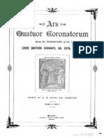 1890 Speth Ars Quatuor Coronatorum v3 p1