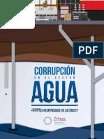 Corrupción en El Sector Agua Quien Es Responsable de La Crisis Compressed