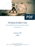 The Kittens Are Back in Town Charming Kitten 2019