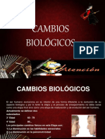 CAMBIOS BIOLÓGICOS