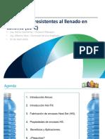 GRUPO3.Botellas PET Resistentes Al Llenado en Caliente AMCOR