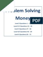 5.Problem Solving Money