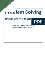 6.Problem Solving Measures