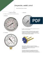 IEEE Medicion Presion Caudal Nivel