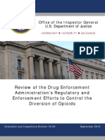 DEA OIG Opioids Review