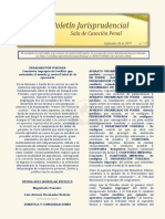 Boletin Jurisprudencial 2019-09-30