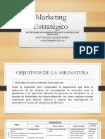 Marketing Estratégico 08.SEP.19