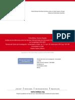 Análisis de Las Diferencias Entre Las Normas Internacionales de Información Financiera (NIIF) y Los