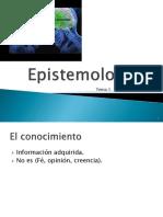 epstemologia