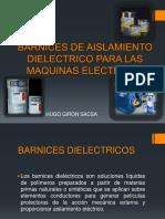 Barnices de Aislamiento Dielectrico Para Las Maquinas Electricas