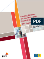 Raising Finance Productivity Capability the Lean Approach
