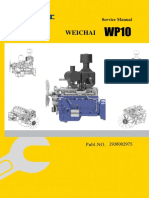 Sevice Manual for WEICHAI WP10 Diesel