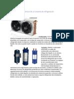 Componentes Mecánicos de Un Sistema de Refrigeración
