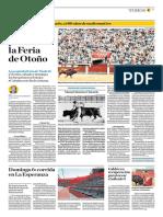 El Comercio (Lima-Peru) Lun 30 Set 2019 (Pag A33) Pag Taurina