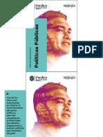 Brochure POLÍTICAS PÚBLICAS