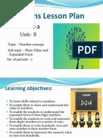 Maths Lesson Plan-1