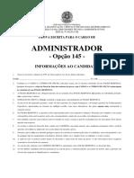 Prova 2016 IFPE Administrador