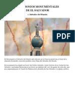 Monumentos Históricos Que Todo Salvadoreño Debe Conocer