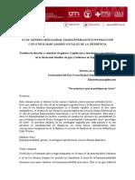 IMAZ, E. Familias de elección y asimetria de género. Legislación y tecnologias reproductivas en la formación familiar de gays y lesbianas en España