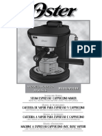 Manual cafetera oster.