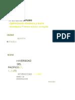 Optimizacion Dinamica y Teoria Economica - Bonifaz 2013