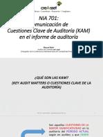 Nia 701 Comunicacion de Cuestiones Clave de Auditoria -Kam