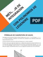 Metodos Con Polinomios de Legendre