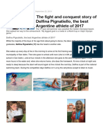 Delfina swimmer