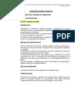Especif. Técnicas - Asturias