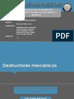 destrucciones quimicas