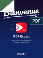 Bienvenue à PDF Expert