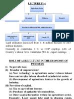 Lecture 5 Pakistan Economy
