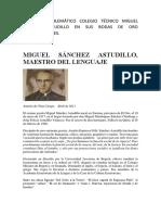 Miguel Sánchez Astudillo
