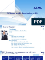 EUV Conference 2019