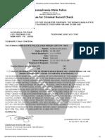 pennsylvania access to criminal history - record check certification  2   1