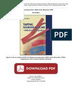 Taping Neuromuscolare Dalla David Blow LZBD3T9AS2