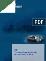 Comunicación comercialización de productos gráficos